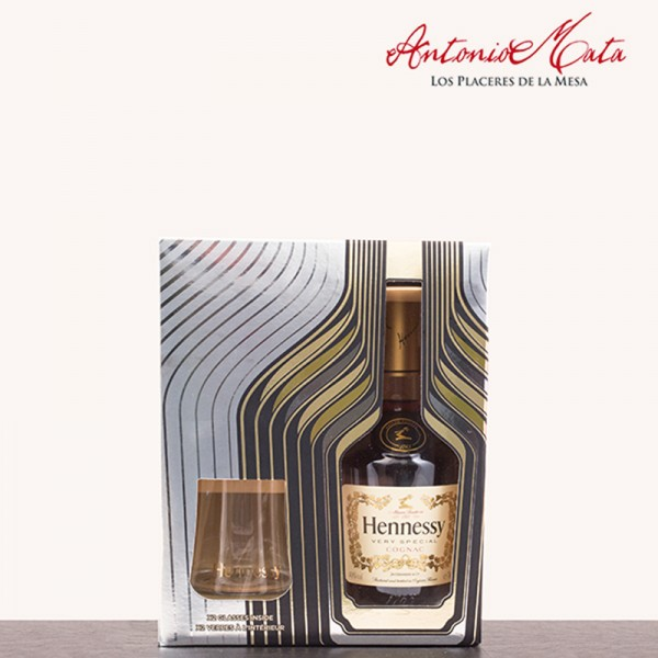 Cognac Hennessy Very Special + 2 Glasses