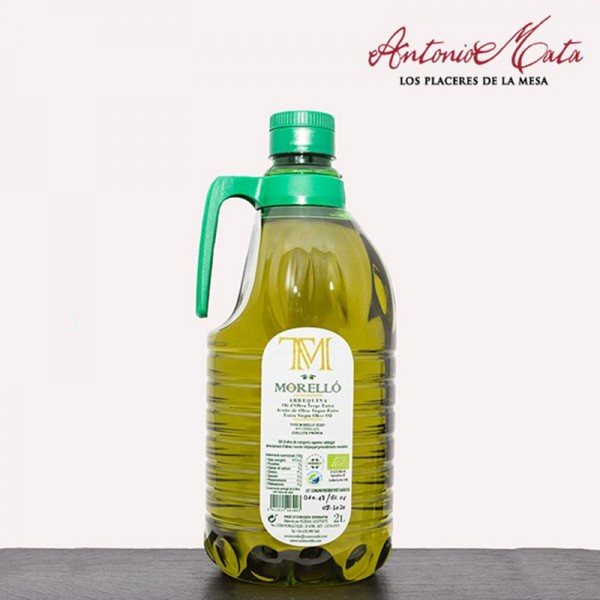 ACEITE ARBEQUINA MORELLÓ 2L