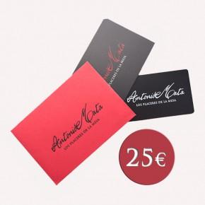 COMPRAR VALE REGALO 25€ -Jamones, ibéricos y otros productos