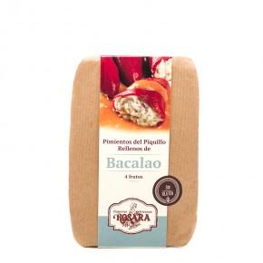 COMPRAR PIMIENTO RELLENO BACALAO -Jamones, ibéricos y otros productos