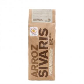 COMPRAR ARROZ BOMBA SIVARIS 1kg -Jamones, ibéricos y otros productos