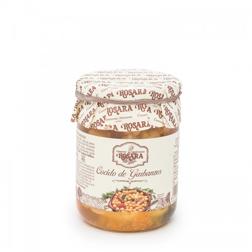 Rosara Cooked chickpeas 500gr