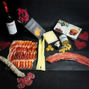 COMPRAR PACK AMANTES DE TERUEL MEDIUM -Jamones, ibéricos y otros productos