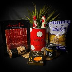 COMPRAR PACK MEDITERRANEAMENTE B -Jamones, ibéricos y otros productos