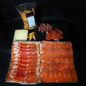 COMPRAR PACK ESPECIAL SIN LACTOSA -Jamones, ibéricos y otros productos