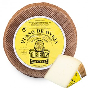 COMPRAR Semi-Hard Sheep Cheese -Jamones, ibéricos y otros productos