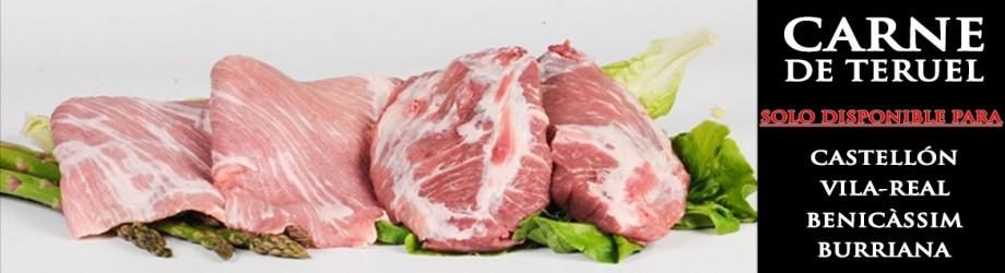 Comprar Carne de Cerdo de Teruel Online en Castellón - Antonio Mata
